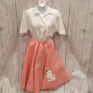 AWESOME 1950s Inspired Medium Poodle Girl Costume!